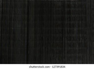 Black strow mat texture