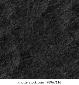 Black stucco seamless background.