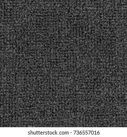 black textile texture as background