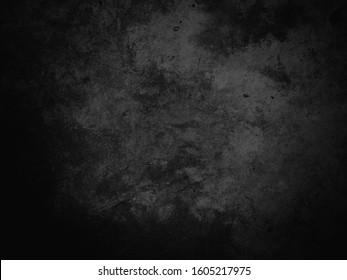 Black texture background, dark concrete texture background, black background