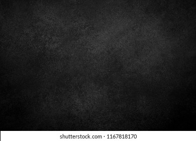 Black texture dark slate stone background. Concrete surface.