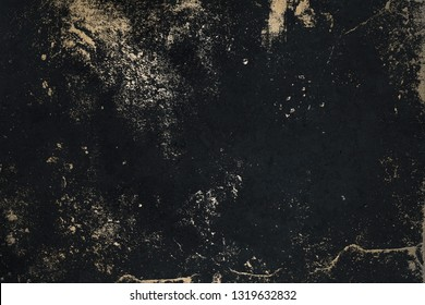 Black Texture with Gold. Luxury Texture. Black Gold Background. 300 dpi.