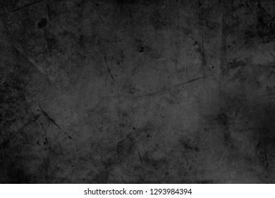 Black textured grunge dark background