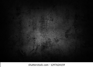 Black textured grunge dark background