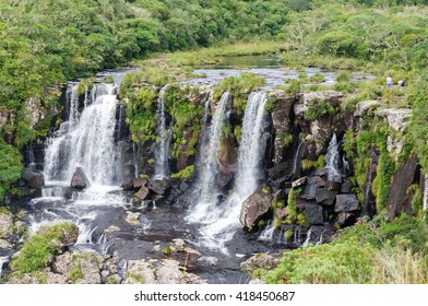Black tiger waterfall in Cambara do Sul, Brazil.
