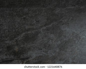 black Tiled wall background or texture