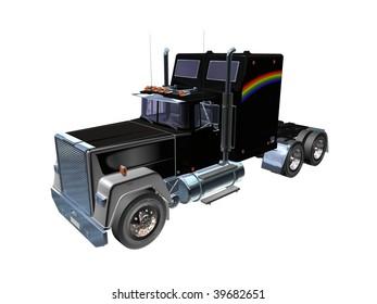 black Truck 3D
