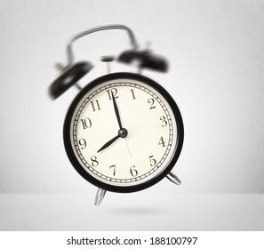 black Vintage the alarm clock