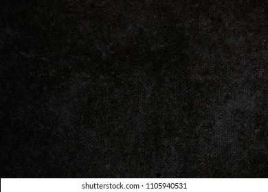 Black vintage background. Rough dark wall, grunge texture