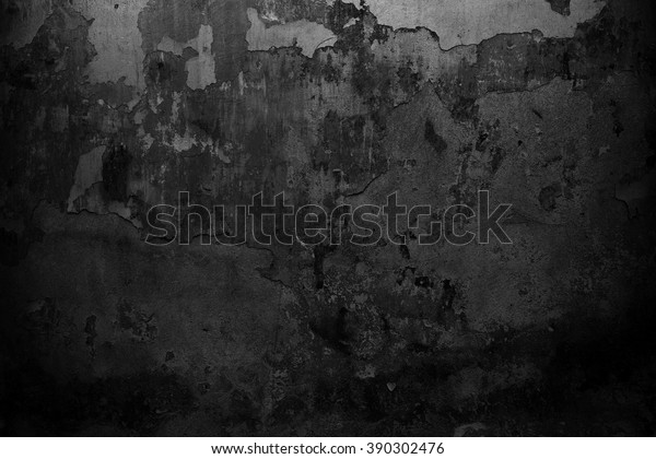Black Wall Background Grunge Texture | Royalty-Free Stock Image