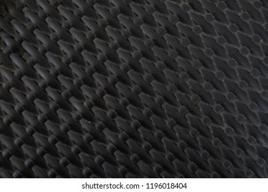 black wall pattern