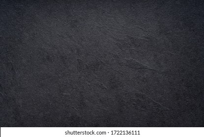 Black wall slate texture rough background, dark concrete floor or old grunge background