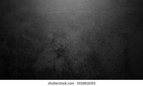 Black wall texture rough background dark rust wall or grunge background with black.