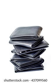 black wallet man