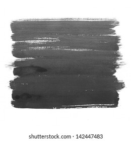 Black watercolor hand drawn background