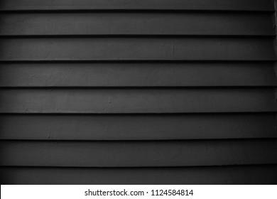 Black Weatherboarding Textured Wall