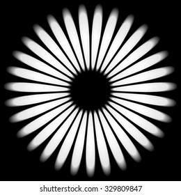 Black and white abstract background.