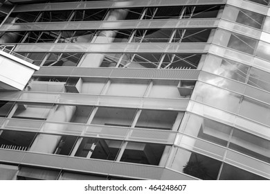 Black and White architecture close up