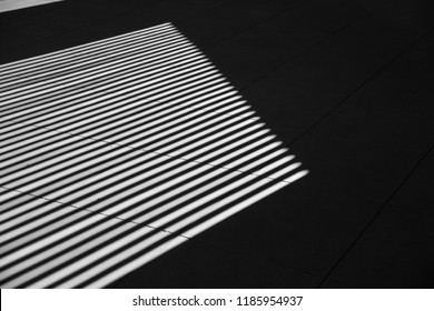 black and white art photography shadow line interior pattern abstract.