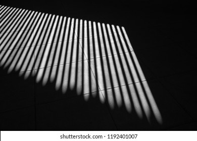 black and white art photography shadow of pattern interior line contrast light and shade.