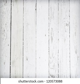 Black and white background of weathered painted wooden plank