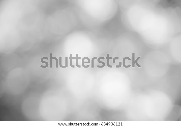 Black and white bokeh background from natural