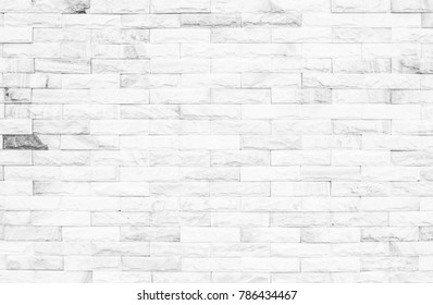 Black and white brick wall texture background or wallpaper abstract paint to flooring and homework.