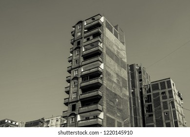 Black and White Buildings in Alexandria, Egypt. - Shutterstock ID 1220145910