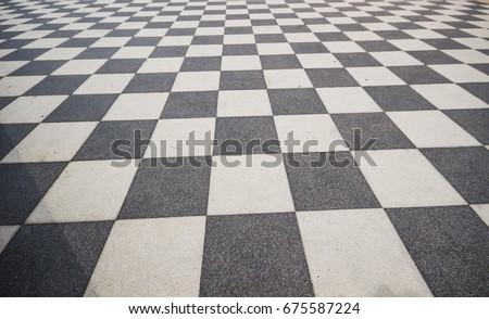 Black White Ceramic Floor Condition Grid Stock Photo Edit Now