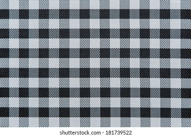 Black and white checkered abstract background