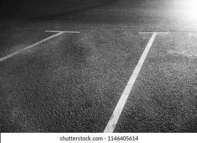 Black and white city parking lines background
