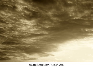 black and white clouds. background