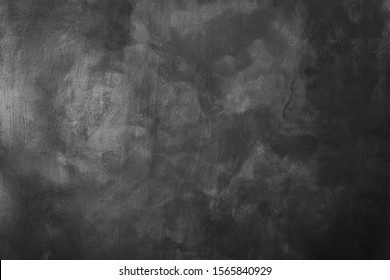 Black and white concrete vintage wall texture. Texture of a grey painted background.