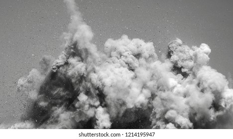 Black and white detonator blasting