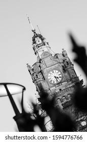 Black and White Edinburgh centre