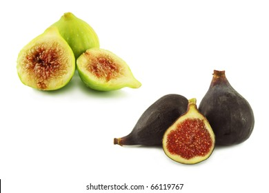Black and white figs