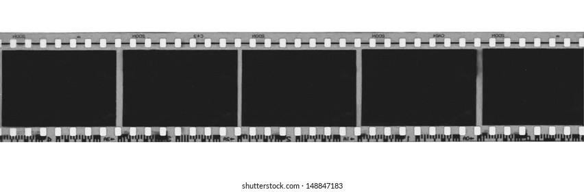 Black and white film strip