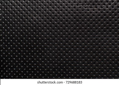 Black and white gradient perforated leather texture background