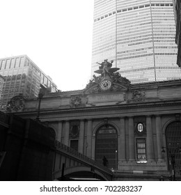 Black and White Grand Central Station