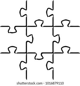 Black and white grunge line background. Abstract halftone illustration background. Grunge grid background pattern