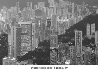 Black and White, Hong Kong city residence area