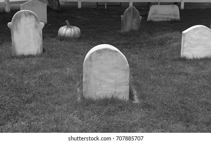 Black and white image of gravestone in the garden.