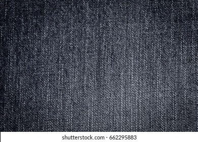 Black and white jean texture background