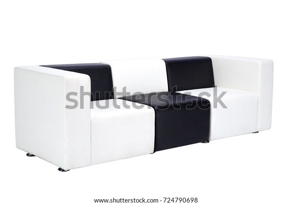 Incredible Black White Luxury Sofa Isolated On Stock Photo Edit Now Bralicious Painted Fabric Chair Ideas Braliciousco