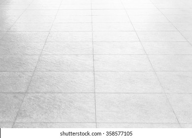 Black And White Marble Floor Texture Background