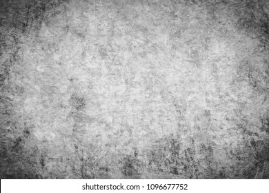black and white of oil painting texture background