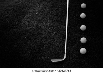 Golf Black And White Stock Photos Images Photography Shutterstock