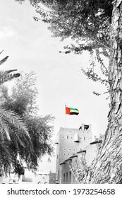 A black and white photo taken in UAE, Dubai.