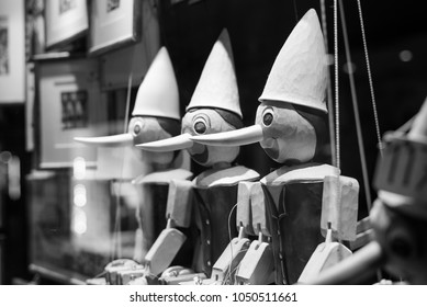 Black & White Pinocchio