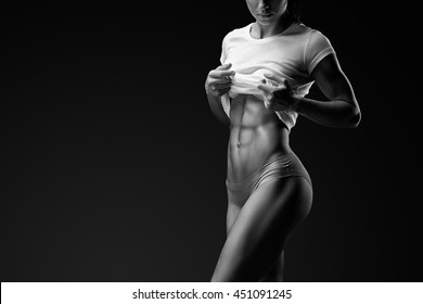 Six Pack Abs Images, Stock Photos & Vectors | Shutterstock